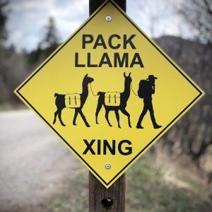 Llama Signs
